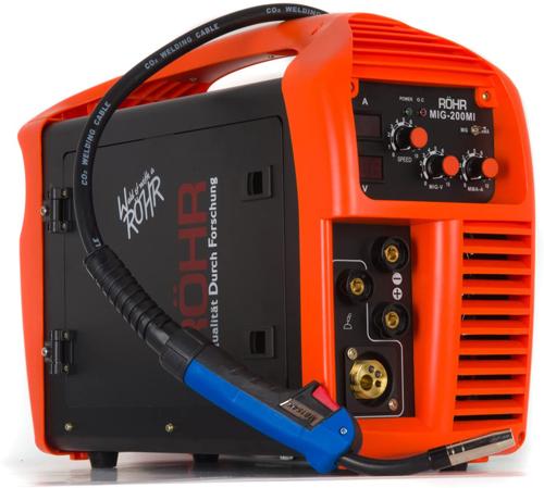 2. MIG ARC Welder Inverter - Röhr MIG-200MI