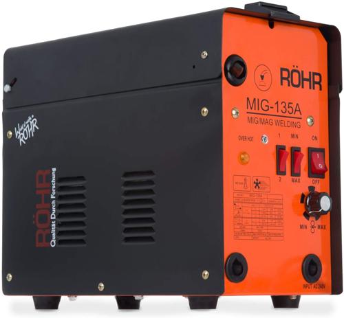 3. MIG Welder Gasless - Röhr MIG-135A