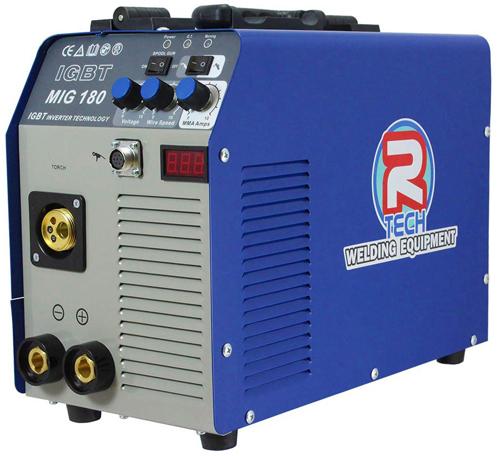 5. Mig Welder 180A 240V Portable Inverter, inc. Torch & Leads